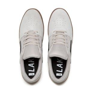 Lakai Brighton Skate Shoe - White/Gum