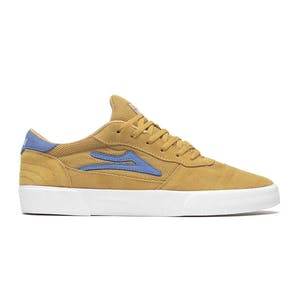 Lakai Cambridge Skate Shoe - Gold Suede