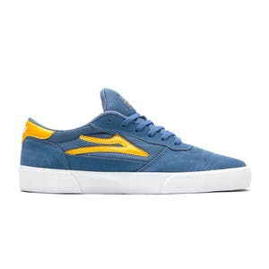 Lakai Cambridge Skate Shoe - Slate/Yellow