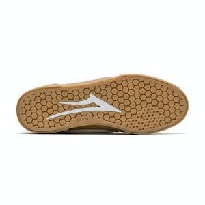 Lakai Cambridge Skate Shoe - White/Teal