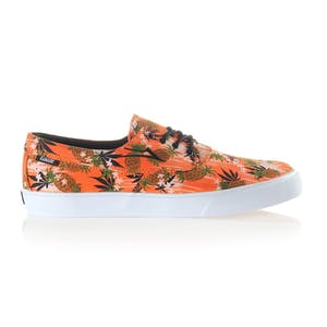 Lakai Camby Skate Shoe — Orange Pineapple