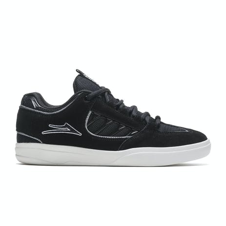 Lakai Carroll Skate Shoe - Black Suede