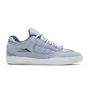 Lakai Carroll Skate Shoe - Light Blue Suede