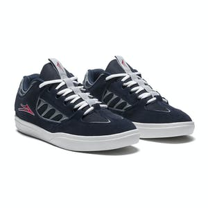 Lakai Carroll Skate Shoe - Navy