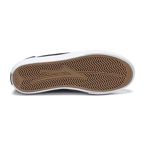 Lakai Griffin Skate Shoe - Black Suede