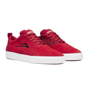 Lakai x Independent Bristol Skate Shoe - Indy Red Suede
