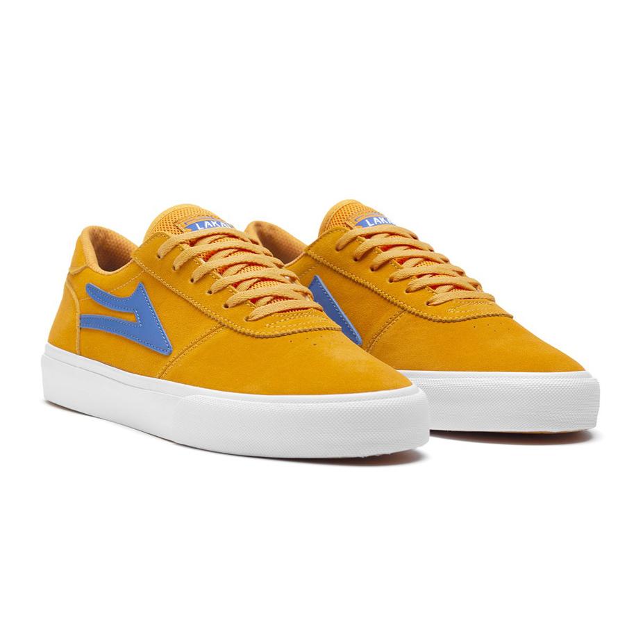 Lakai Manchester Skate Shoe - Mandarin