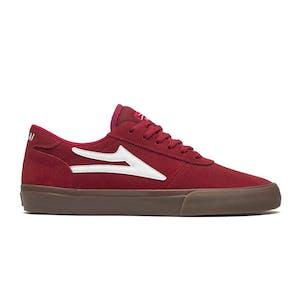 Lakai Manchester Skate Shoe - Red/Gum