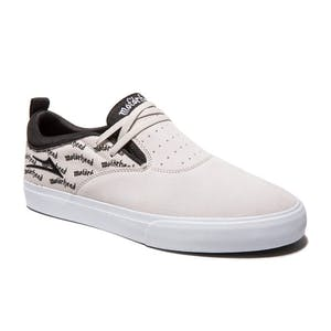 Lakai x Motorhead Riley Hawk 2 Skate Shoe - White/Black