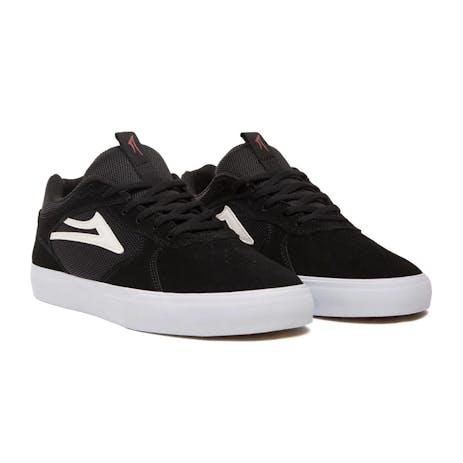 Lakai Proto Vulc Skate Shoe - Black Suede