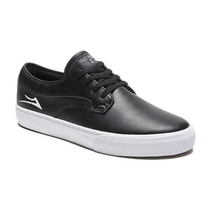 Lakai Hawk Skate Shoe - Black Leather