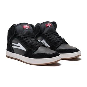 Lakai Telford Skate Shoe - Black Suede