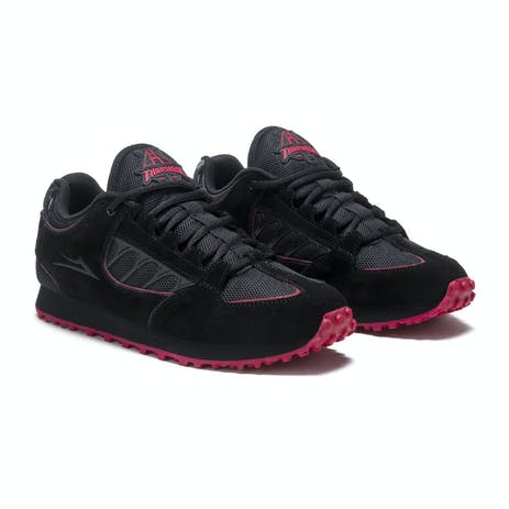 Lakai x Thrasher Carroll Skate Shoe - Black/Red