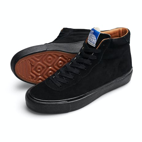 Last Resort VM001 Hi Skate Shoe - Black/Black