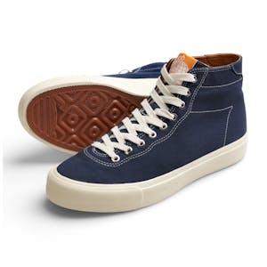Last Resort VM001 Canvas Hi Skate Shoe - Blue/White