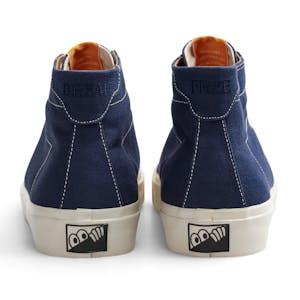 Last Resort VM001 Canvas Hi Skate Shoe - Sea Blue/White