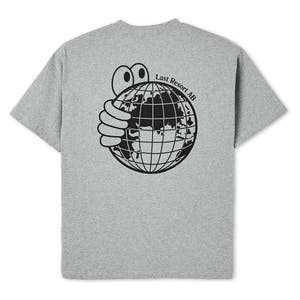 Last Resort World T-Shirt - Heather Grey