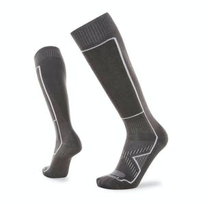 Le Bent Snow Light Snowboard Socks - Grey