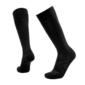 Le Bent Snow Light Snowboard Socks - Black