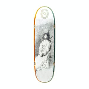 "Madness Bound 9.0"" Skateboard Deck - Blue/Orange"