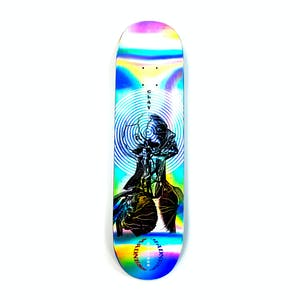 "Madness Kreiner Inside Out Impact Light 8.25"" Skateboard Deck - Holographic"