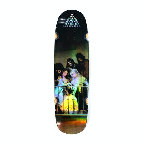 """Madness Creeper 8.5"""" Skateboard Deck - Holographic"""