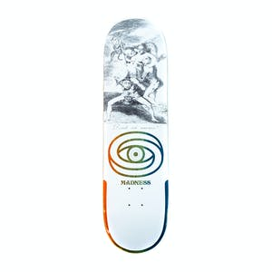 "Madness Donde 8.5"" Skateboard Deck - White"