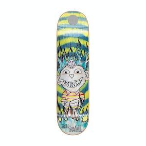 "Madness Jack Gonz 8.5"" Skateboard Deck - Green Swirl"