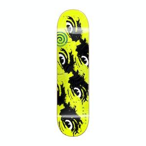 "Madness Side Eye 8.5"" Skateboard Deck - Neon Yellow"