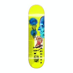 "Madness Skinned 8.75"" Skateboard Deck - Neon Yellow"