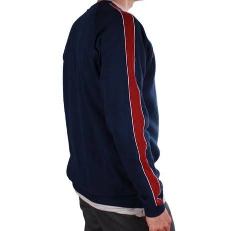 Magenta Team Crewneck Sweater - Navy