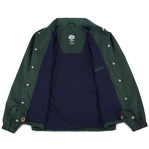 Magenta Windbreaker Jacket - Forest Green