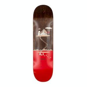 """Magenta Landscape 8.5"""" Skateboard Deck - Valls"""