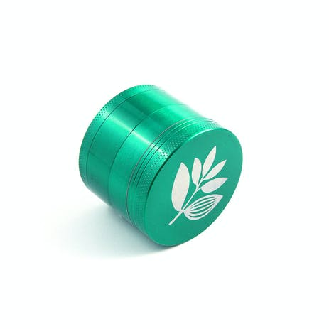 Magenta Metal Herb Grinder - Green