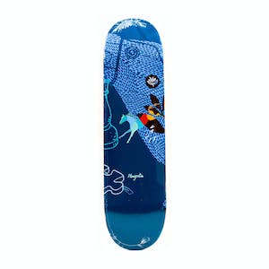 "Magenta Leap 8.25"" Skateboard Deck - Valls"