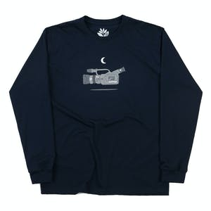 Magenta VX Long Sleeve T-Shirt - Navy