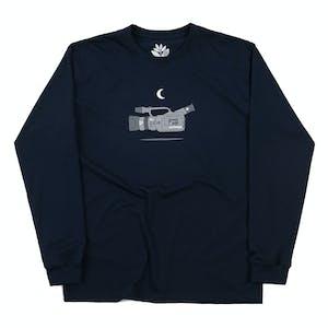 Magenta VX Long Sleeve T-Shirt - Navy