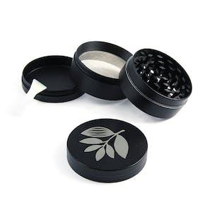 Magenta Metal Herb Grinder - Black