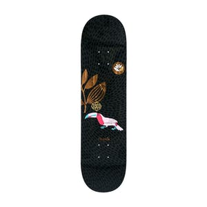 "Magenta Toucan 8.0"" Skateboard Deck - Black"