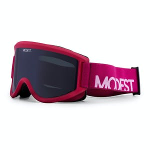 Modest. Team Snowboard Goggle 2019 - Berry