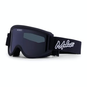 Modest. Team Snowboard Goggle 2019 - Black