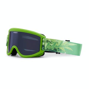 Modest Team Snowboard Goggle - Kale