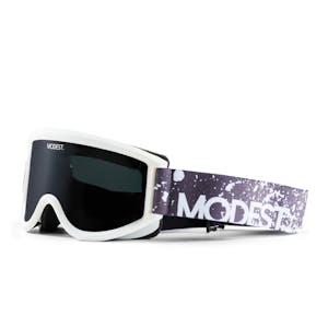 Modest Team Snowboard Goggle 2020 - White