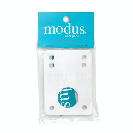 "Modus 1/8"" Riser Pads 2 Pack - White"