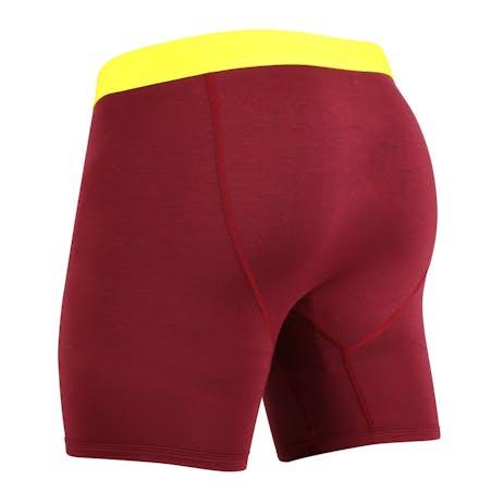 MyPakage Weekday Underwear - Burgundy/Yellow