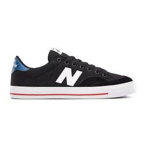 New Balance NM212 Skate Shoe - Black/White/Blue