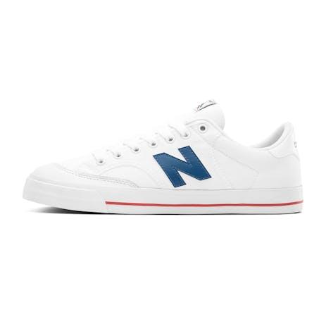 New Balance NM212 Skate Shoe - White/Blue