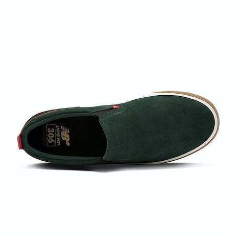 New Balance Foy NM306L Skate Shoe - Green/Red/Gum