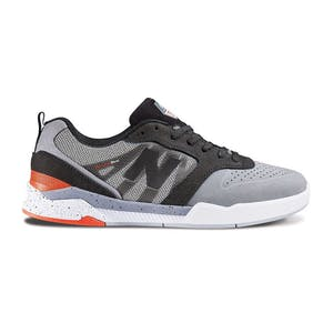 New Balance NM868 Skate Shoe - Grey/White/Red