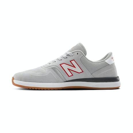 New Balance NM420 Skate Shoe - Grey/White/Red